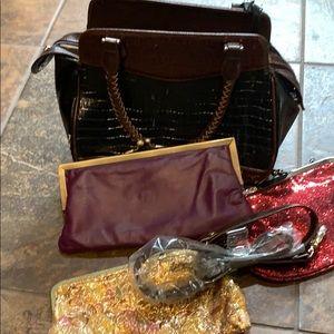 Handbags - 4 purses Brighton and vintage